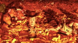 Toy Story 3: Woody, Buzz and friends resign themselves to a fiery end.